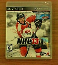 NHL 13 (Sony PlayStation 3, 2012) Brand New Factory Sealed