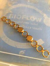 BIOFLOW Pirouette Wrist Bracelet Used But Useable. Gold Colour 18cm Length.