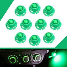 10x T4.7 Green LED Instrument Dashboard Climate Control Light Bulb 12V L-