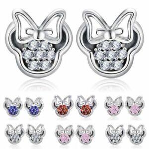 Boucles d'oreilles Minnie - 5 coloris -  ✿ bijouxtoutmimi.fr ✿