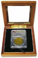 Guardhouse Wood Glass Lid Display Box Case 1 Certified Graded USA Coin Slab PCGS