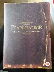 Pearl Harbor (3 Disc DVD Ultimate Edition), Unsealed, Like New, No Damage