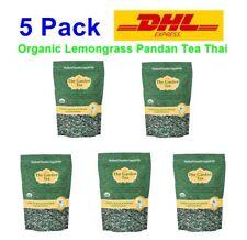 5X Organic Herbal Tea Lemongrass Pandan Healthy Drink Thailand Premium Tea Bags
