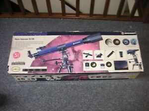 Boxed Bresser SkyLux 70 / 700 Mounted Refractor Telescope VGC