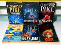 Lot of 6x Christopher Pike Young Adult Horror Fiction Books! Remember Me 1 2 3!