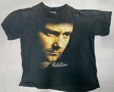 Vintage 1990 Phil Collins World Tour Concert T-shirt (A15)