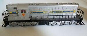 Vintage American Flyer Train Locomotive 370 Diesel Switcher Silver