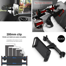 "360° Back Seat Headrest Phone Tablet Mounting Holder For iPad Tablet  4"" To 11"""
