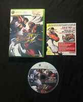 Street Fighter IV 4 — Cleaned/Tested! Fast Free Shipping! (Xbox 360, 2009) SF4