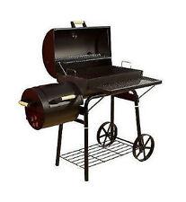El Fuego® Dakota Smoker AY 308 Holzkohlegrill Räuchergrill Barbecue Grill  Räder