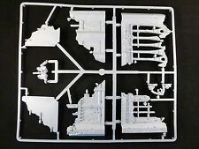 Warhammer 40K Set of Battlefield Gothic Building Ruins & Rubble on Plastic Frame