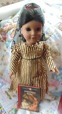 "American Girl Pleasant Company Josefina 18"" Doll, Box Holiday Outfit Gently Used"