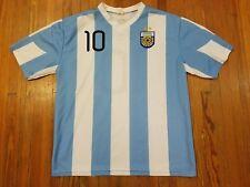 Lionel Messi Argentina National Soccer Jersey Men's Size L