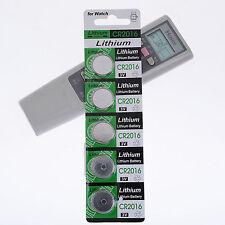 5x CR2016 Batteries CR 2016 DL2016 ECR2016 3V Button Coin Cell Pack  HOT