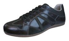 Zapatos informales de hombre marrones Geox de piel