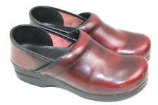 DANSKO brand womens comfort shoes size us 10  eu 41 reddish brown            WU6