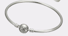 Authentic Pandora Sterling Silver Dainty Bow Bangle