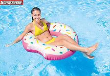 Intex Donut Tube Tires Swimming ring Lounge Air mattress Pool Bestway 107 x 99