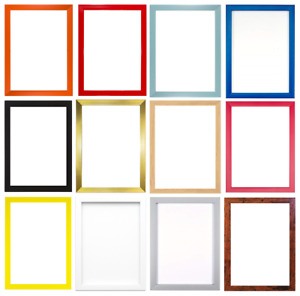 15 Rainbow Colours Modern Range Picture Photo Poster Frame Decor A2 A3 A4 A5