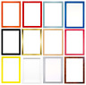 15 Rainbow Colours Modern Range Picture Photo Poster Frame Decor A2 A3 A4 A5