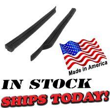 Fits 71 72 73 74 Barracuda Cuda Challenger Rear Roll Up Quarter Window Seals