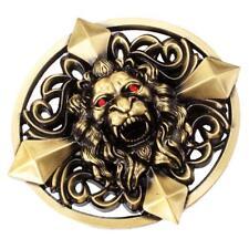 Gothic Keltic Cross 3D Skull Lion Head Heavy Cinturón Hebilla Hombres