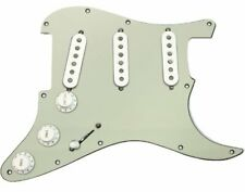 Fender Custom Shop Abby 69 Pickups Loaded Strat Pickguard White on Mint Green