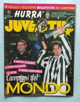 HURRA' JUVENTUS SUPPL. DICEMBRE 1996 VITTORIA COPPA INTERCONTINENTALE DEL PIERO