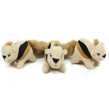 OUTWARD HOUND - Hide?A?Squirrel Plush Dog Toy Squirrel Replacements - 3 Pack