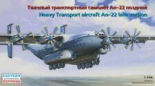 1/144 Eastern Express Antonov AN-22 Heavy Transport Aircraft Model Kit 14480