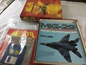 MIG-29 MIG29 FULCRUM - DOMARK - AMIGA BOXED FLIGHT SIM GAME