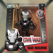 "WAR MACHINE Jada Die Cast Metal 6"" Figure Marvel Captain America Civil War -M67"