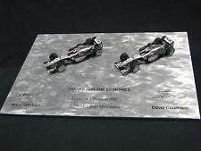 Minichamps McLaren Mercedes MP4/16 2001 set 1:43 #3 Hakkinen + #4 Coulthard (JS)