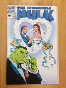 Incredible Hulk 418 NM- (9.2) 1ST TALTOS CAPTAIN MARVEL 1994 MARVEL