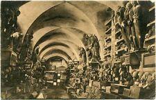 Primi '900 Palermo interno catacombe capuccini FP B/N