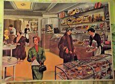 Affiche Poster Set de Table 42x30 Chocolatier Salon de Thé Pâtissier Chocolat