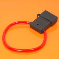 High Quality In Line Maxi Blade Fuse Holder Splash Proof Car Van Boat 8 AWG 80A
