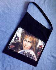 Jareth Tote Purse Shoulder Bag with Pocket Market Beach Laptop Labyrinth Bowie