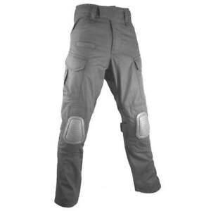 BULLDOG ROGUE MK3 COMBAT TROUSERS WITH KNEE PADS GREY Police Military Pants