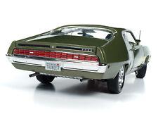 1970 FORD TORINO GT GREEN MET. CLASS OF '70 1:18 DIECAST MODEL AUTOWORLD AMM1211