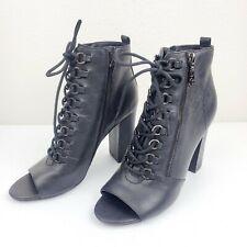 peep toe combat boots