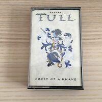 Jethro Tull _ Crest of a Knave _ MC K7 Musicassetta _ 1987 Chrysalis Italy