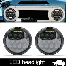 "For JK Datsun Toyota Land Cruiser FJ40 Classic Mini Austin Rover 7"" LED Headlamp"