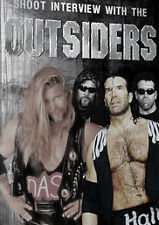 The Outsiders Shoot Interview DVD Hall Nash WCW WWE NWO