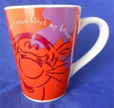 Disney Tigger Pounce Blustery Days Can't Block My Bounce Coffee Mug Cup Punch