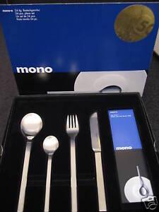 Mono A Besteck 24tlg. lange Klinge NEU OVP