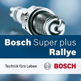 BOSCH SUPER PLUS SPARK PLUGS for FORD FAIRMONT ZL NA NC NF NL AU SERIES 1 6 CYL