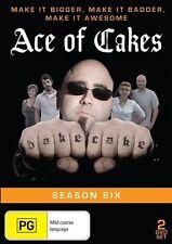 Ace Of Cakes : Season 6 (DVD, 2014, 2-Disc Set)