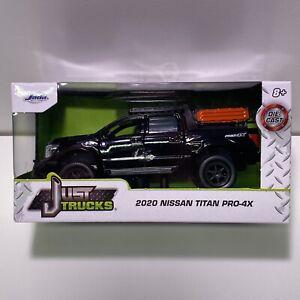 Jada 2020 NISSAN TITAN PRO-4X PICKUP TRUCK 1:32 SCALE - Just Trucks Black