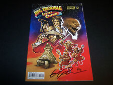 SIGNED ERIC POWELL BIG TROUBLE IN LITTLE CHINA #2 JACK BURTON REGULAR COVER 1PR